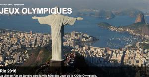 Capture d'écran de www.olympic.org