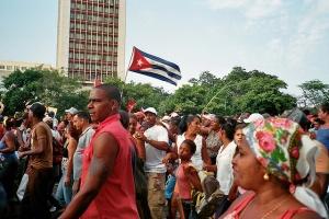 Manifestation à Cuba - crédit : Klaussi / CC Flickr