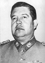 Manuel Contreras, chef de la DINA - crédit : Gouvernement américain
