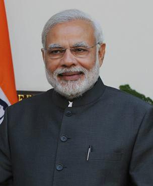 Narendra Modi est le 15ème premier ministre indien - crédit : Barthateslisa/ Wikimedia Commons