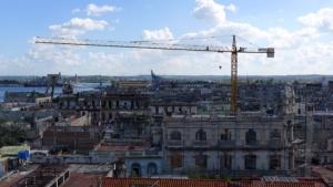 Photo la Havane en construction Diego Mermoud
