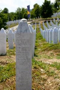 Cimetière musulman en Bosnie-Herzégovine - crédit : Interfaith tour