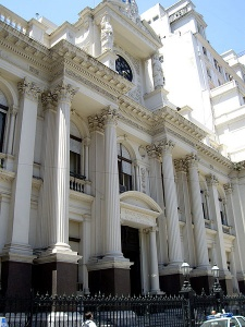 Siège de la banque centrale d'Argentine à Buenos Aires - Crédits: Ben Lopatin / CC Flickr