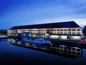 Datadock, centre de traitement de données  « vert » à Strasbourg. Crédit: Plusserver/flickr