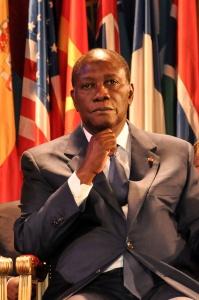 Président Alassane  Ouattara - Crédit: Hugo Passarello Luna / Wikimedia Commons