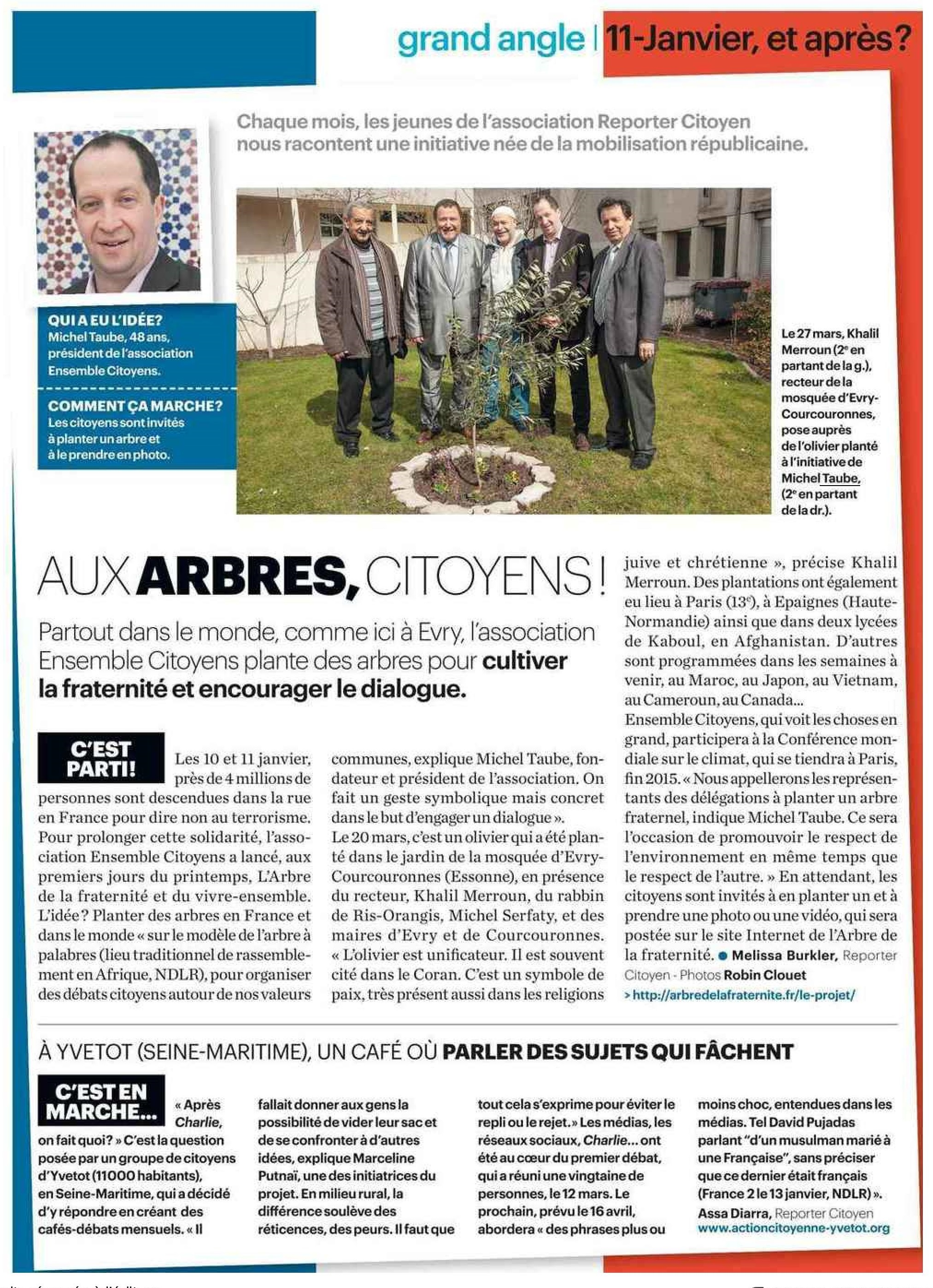 Article du Parisien Magazine