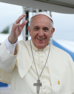 Le pape François lors de sa visite en Corée du Sud, le 17 août 2014 - Crédit : Korea.net / Service coréen de culture et d'information