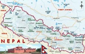 Nepal Chine semaine en Inde