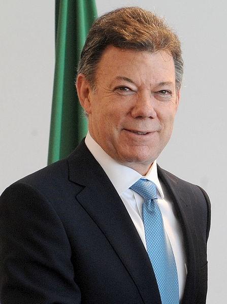 Juan Manuel Santos. Crédit : Agência Brasil/Flickr