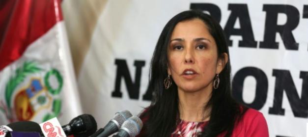 Nadine Heredia, épouse d'Ollanta Humala, président du Pérou. Capture d'écran www.lepoint.fr