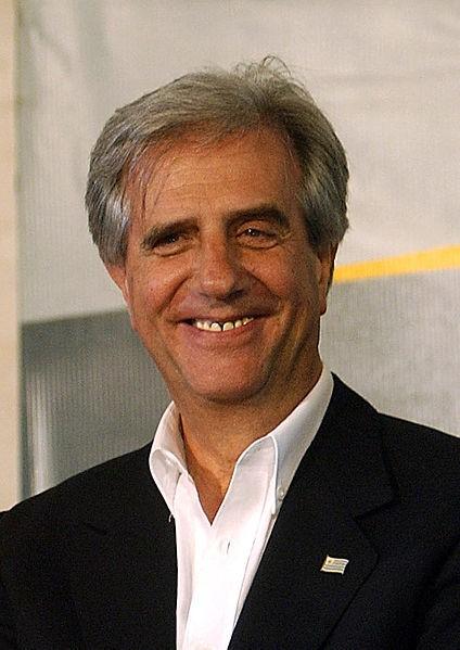 Tabaré Vazquez, président de l'Uruguay. Crédits : Fabio Pozzebom, Agência Brasil