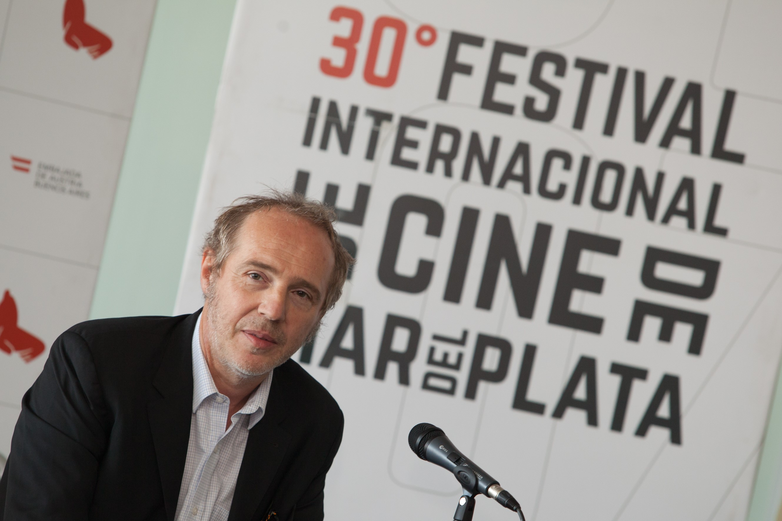 Arnaud Desplechin, invité d'honneur de la 30ème édition du Festival de Mar del Plata. Crédits : Festival International de Mar del Plata