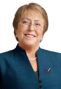 Michelle Bachelet en 2013 Crédits : Comando Michelle Bachelet / Creative Commons