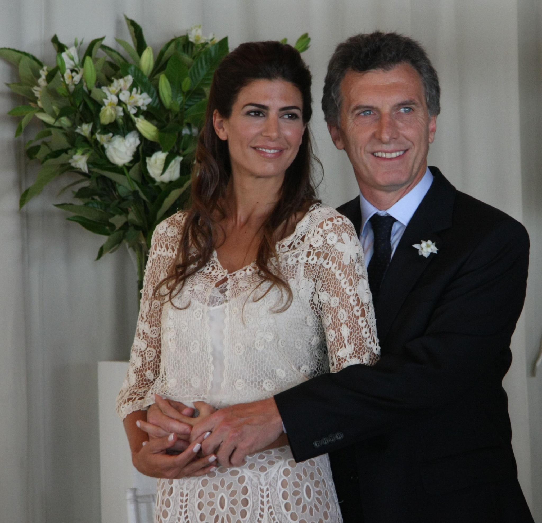 Mauricio Macri et sa sublime femme Juliana Awada, une aide discrète mais réelle pour conquérir les Argentins pendant la campagne. Crédit Photo : Mauricio Macri / Flickr CC.
