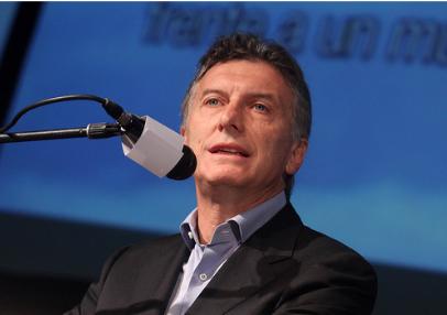 Mauricio Macri, candidat de l'alliance Changeons aux élections présidentielles. Crédits: PRO / Flickr CC.