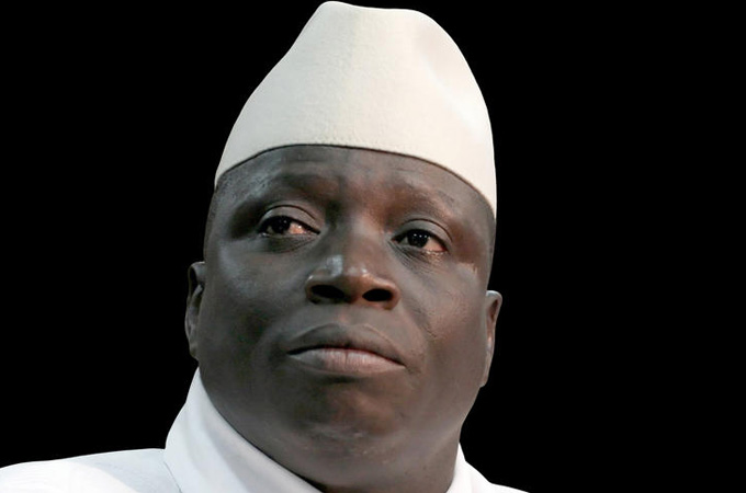 Yahya Jammeh, président gambien -  Crédit : Jagga - Wikimedia Commons