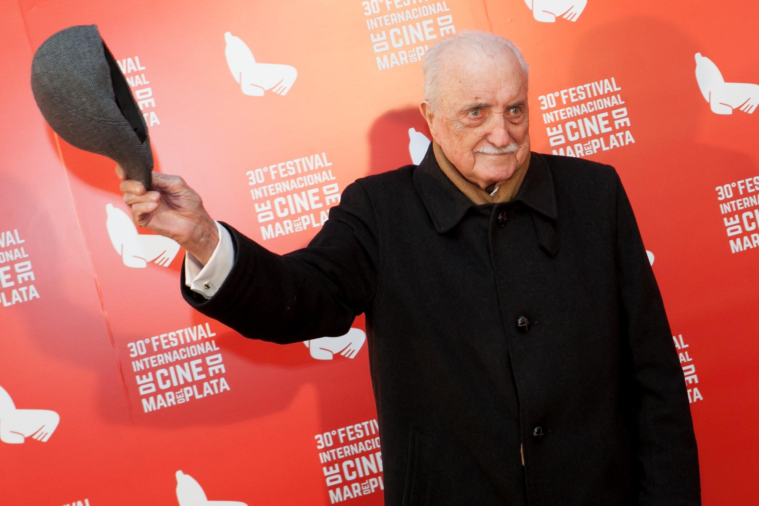 José Martinez Suarez, réalisateur argentin multiprimé, président du festival aussi excentrique que talentueux. Crédits : Festival International de Mar del Plata