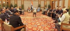 L'Inde s'est montrée particulièrement satisfaite de l'accord final proposé à l'issue des négociations de la COP21. Crédit : Narendra Modi Official / Wikimedia Commons