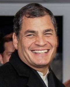 Rafael Correa en 2013. Crédits : Cancillería Ecuador/Creative Commons
