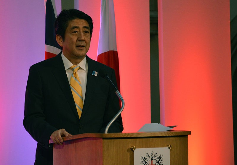 Shinzo Abe. Crédit: WCommons