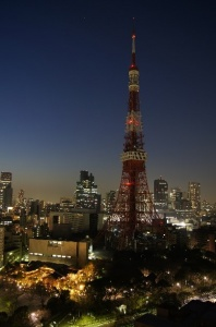 Tokyo Tower. Crédit: WCommons