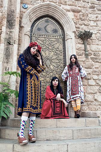 Les trois sœurs de A-WA. Crédit: Tomer Yossef.