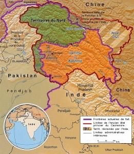 Depuis la partition de 1947, Inde et Pakistan revendiquent l'intégralité du Cachemire. - Crédit : Spiridon Ion Cepleanu /  Wikimedia Commons