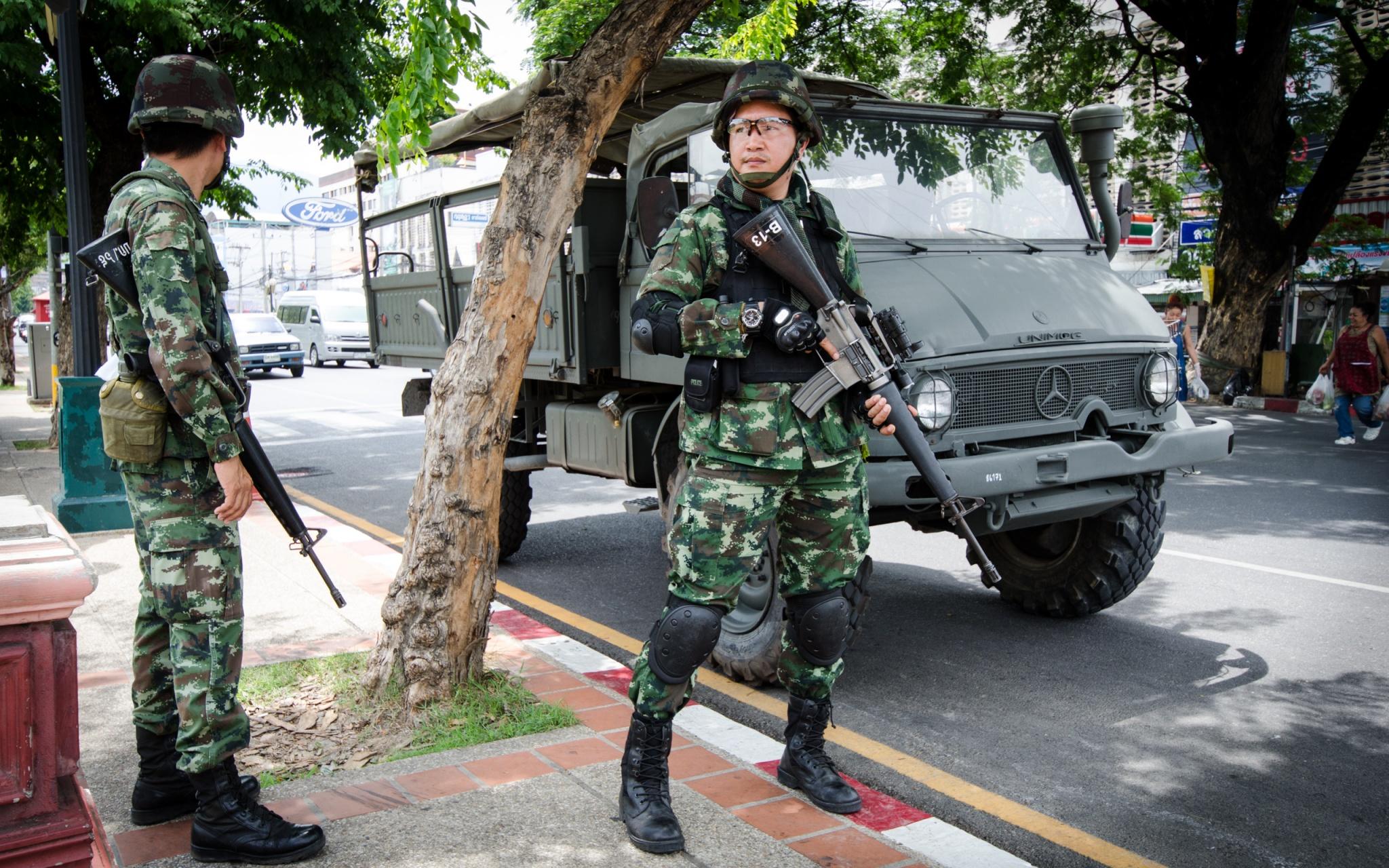 Coup d'état en Thaïlande - Crédit photo : Takeaway - Wikimedia Commons