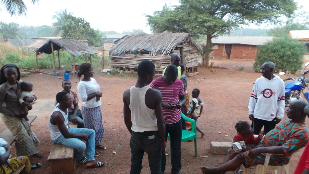 Le village de Gueya - Crédit photo : Noé Michalon