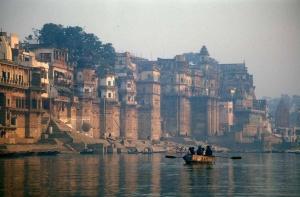 Le Gange est un fleuve sacré pour les Hindous. - Crédit : Babasteve / Wikimedia Commons