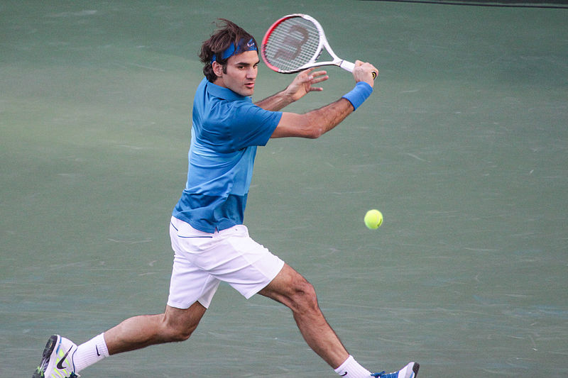 Roger Federer - Crédit photo : Mike Mc Cune - Wikimedia Commons