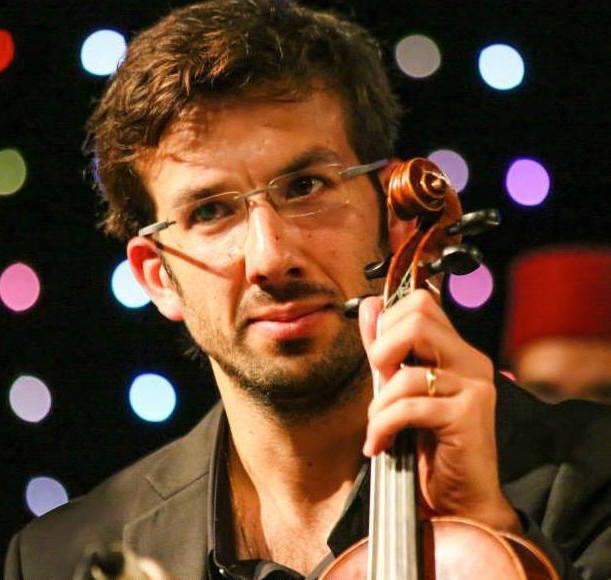 Elad Levy et son violon - Crédit Soufiane Bouhali