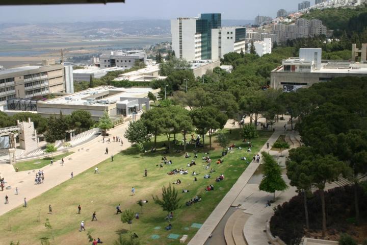Le campus du Technion une petite ville - Crédit photo : Erez Lichtfeld