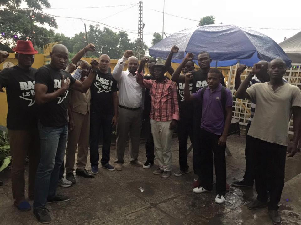Les jeunes militants ont été libérés - Crédit photo : Ras le bol mouvement citoyen Facebook officiel