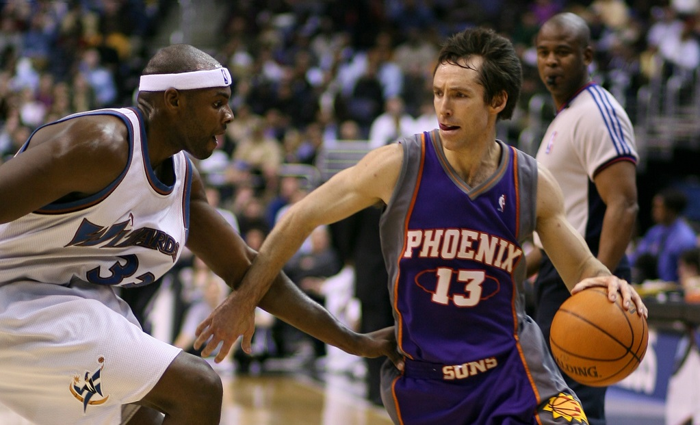 Le basketteur américain Steve Nash - Crédit photo : Keith Allison / Flickr CC