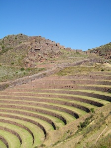 Le  site archéologique de Pisac (région de Cusco).  Pisac, concerné par le décret, fait partie des nombreux sites archéologiques de la région de Cusco. – Crédit photo : Corinne Duquesne