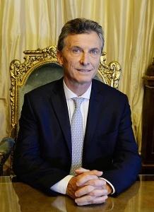 Portrait officiel de Mauricio Macri, le jour de sa prise de fonction le 10 décembre 2015. Crédits : Casa Rosada (Argentina Presidency of the Nation), (Creative Commons)