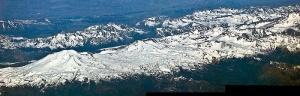 La chaîne volcanique Nevados de Chillán, au Chili. Crédits : Gérard Prins (Creative Commons)