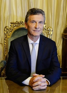 Mauricio Macri, président argentin. Crédits : Casa Rosada (Argentina Presidency of the Nation) (Creative Commons)