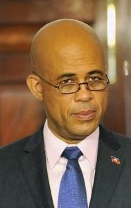 Michel Martelly, avril 2011 - Crédit : Domaine public.