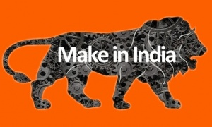 Make in India, une campagne lancée par Modi au lendemain de son élection en mai 2014.
