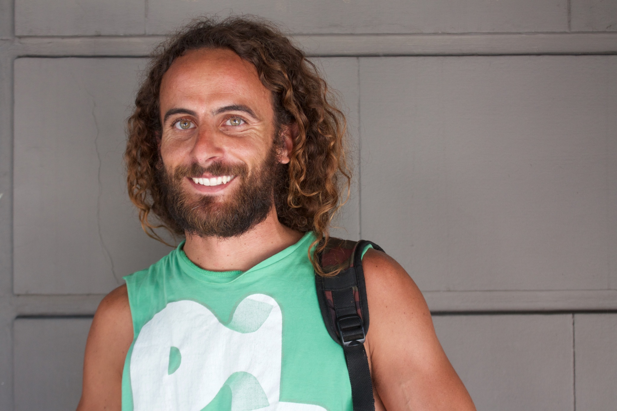 Nicolas Migueiz Montan à Buenos Aires. Crédits : Justine Perez / Opinion Internationale.