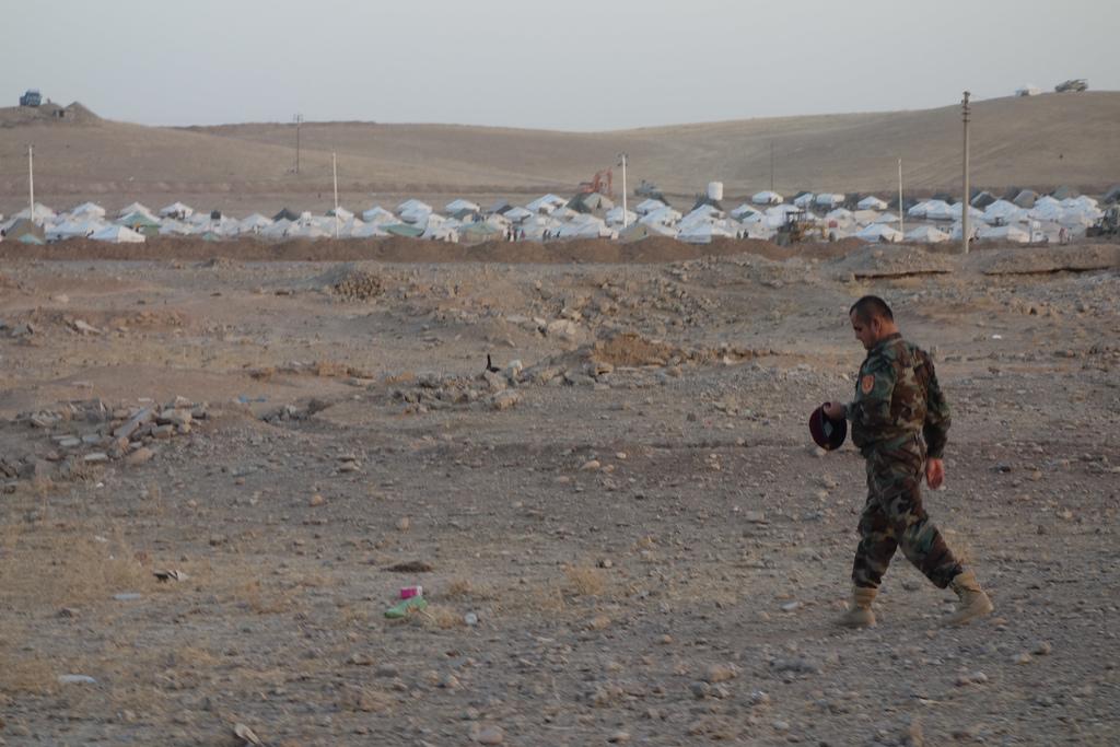 Militaire en Syrie - Crédit photo : Béatrice Dillies / Flickr CC
