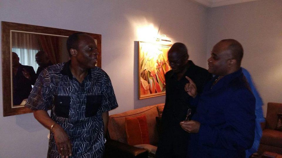 Le général Jean-Marie Michel Mokoko à son domicile - Crédit photo : Brazza News
