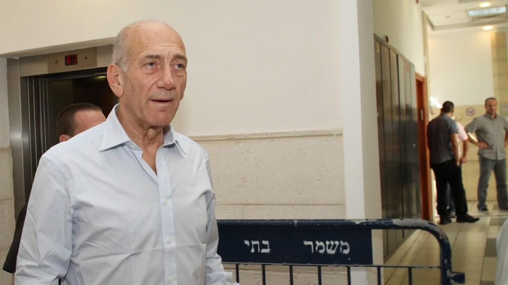 Ehud Olmert - Crédit photo : Yoav Ari Dudkevitch/Flash90