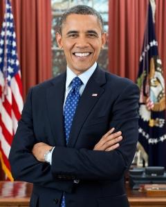 Barack Obama. Domaine public.