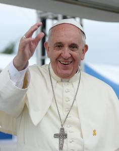 Le pape François en Corée du Sud, en août 2014 Crédit photo : Korea.net / Korean Culture and Information Service (Jeon Han) (Creative Commons)