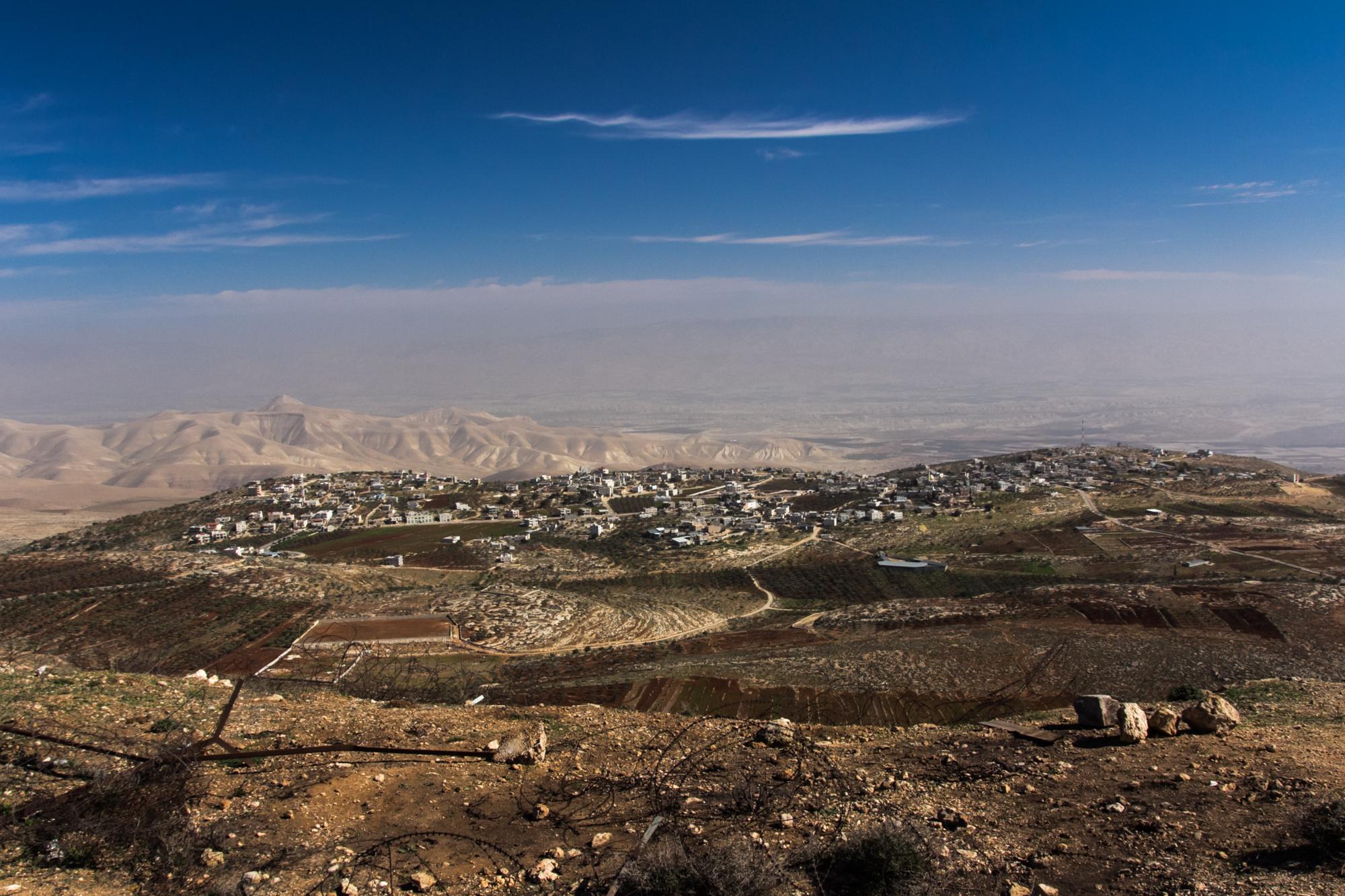Le village de Douma,  - Crédit photo : Oren Rozen / Wikimedia Commons