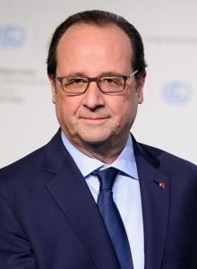 François Hollande, lors de l'ouverture de la COP21 à Paris, le 30 novembre 2015. Domaine public