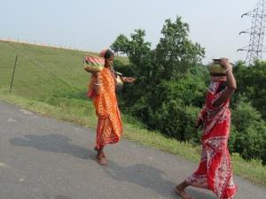 La différence de modes de vie, entre villes et campagnes, considérable, est un enjeu crucial pour le gouvernement s'il veut définitivement sortir l'Inde du sous-développement - Crédit photo : Ipsita Kabiraj